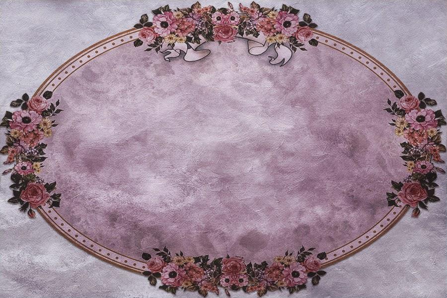 free graphics vintage frame oval floral