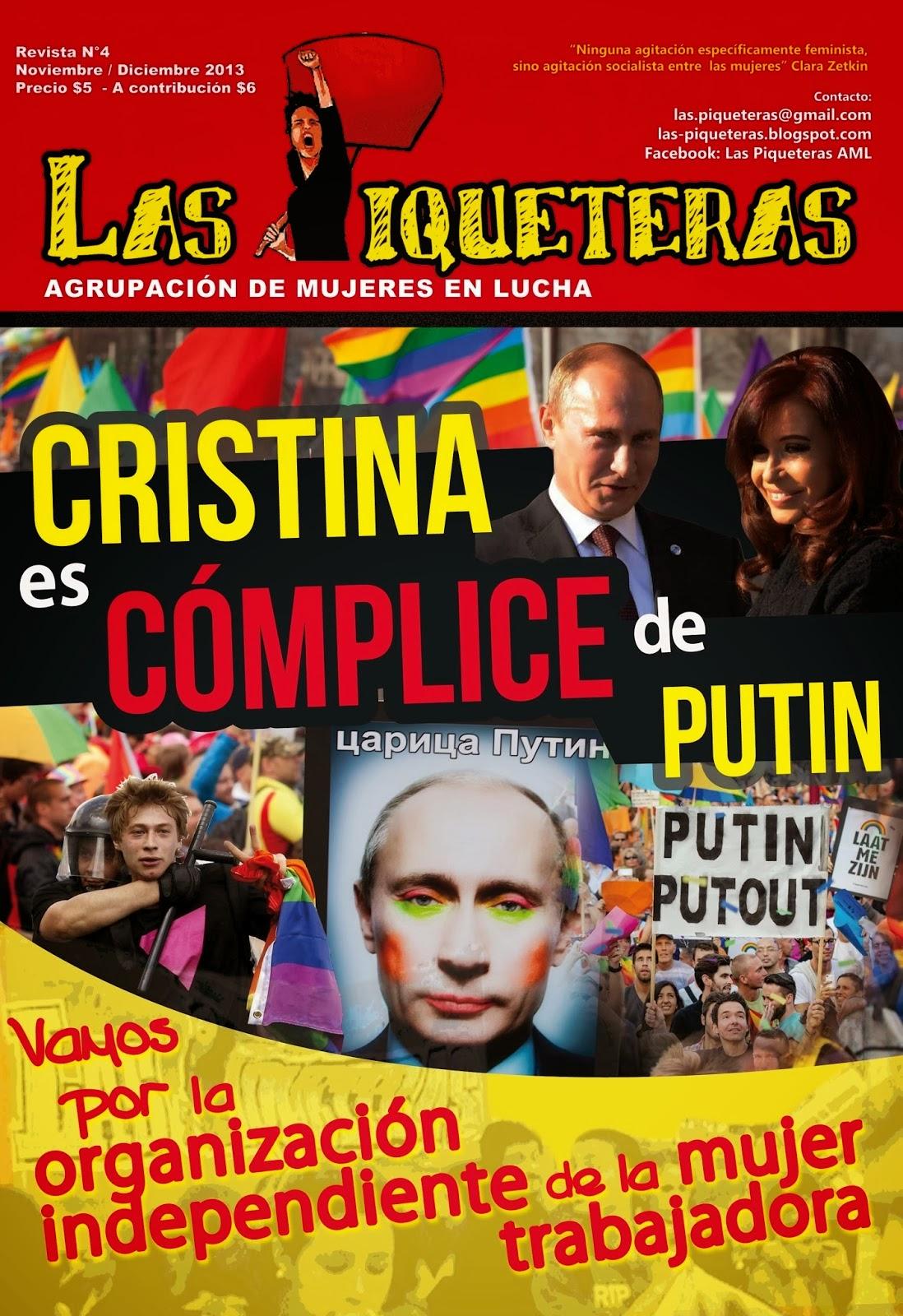 REVISTA DE LAS PIQUETERAS Nº4 - Noviembre 2013