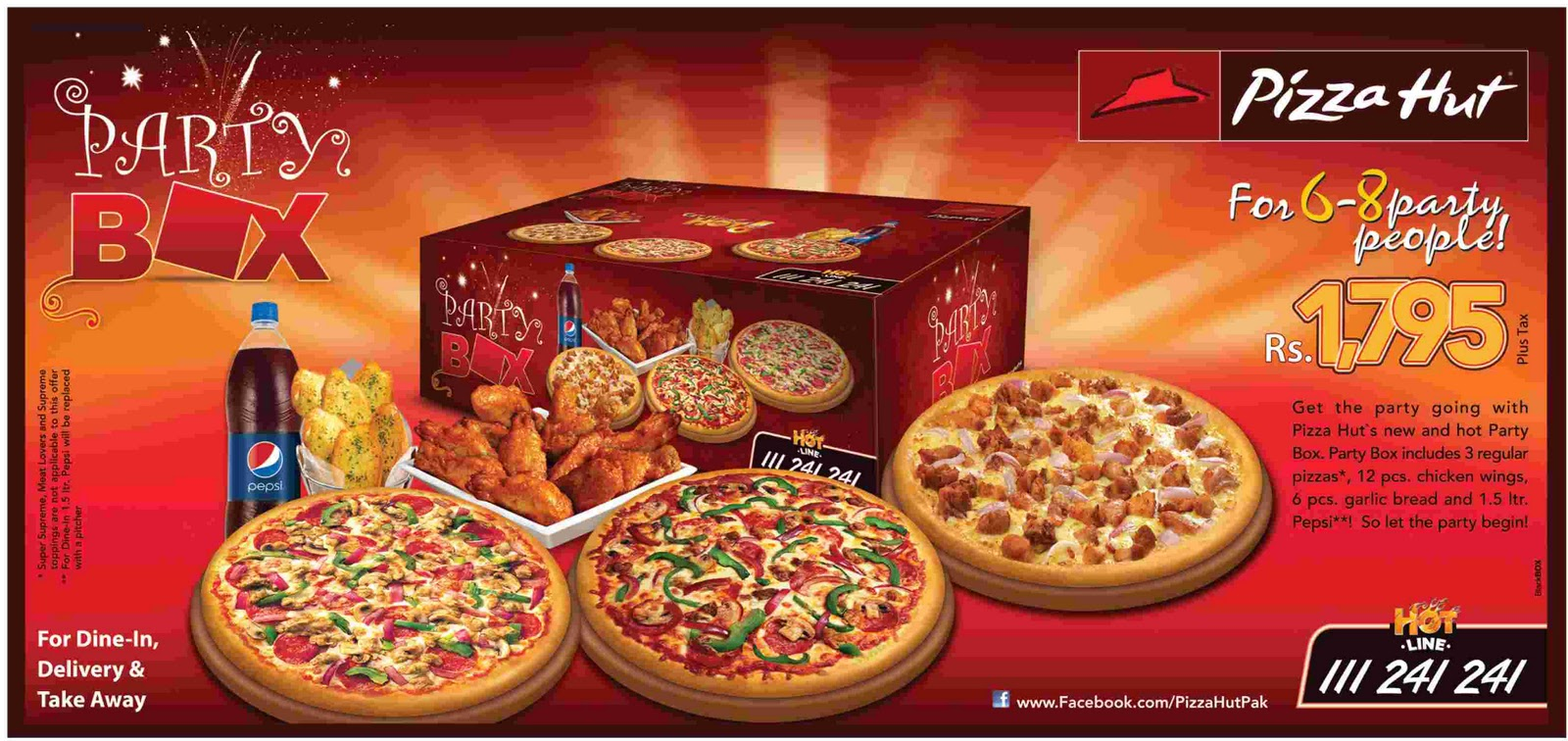Meals amp; Deals: New and Hot Party Box Meal Deal by Pizza Hut