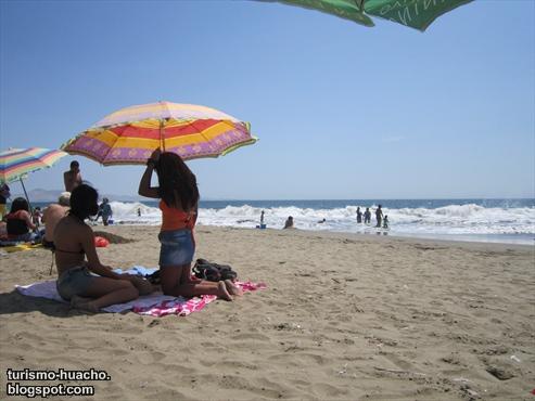 Foto playa El Colorado, Huacho