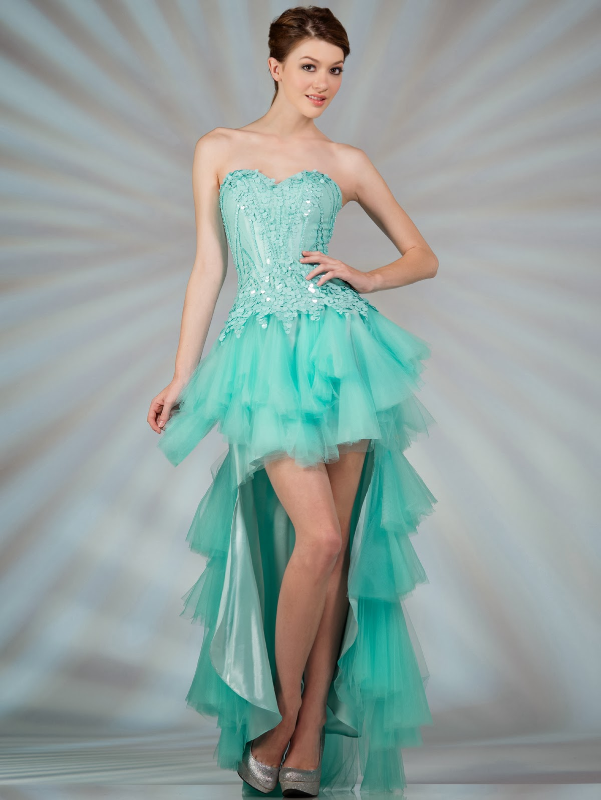 dressybridal 2014 prom color trendstunning aqua blue
