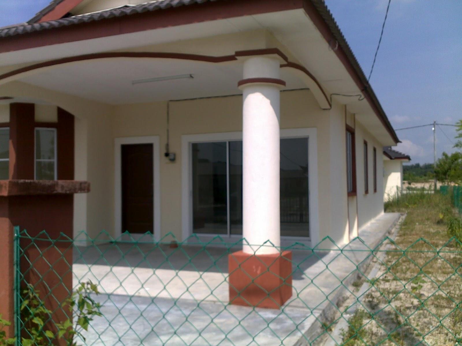 Gambar Rumah Banglo Setingkat Gambar Rumah Banglo Satu
