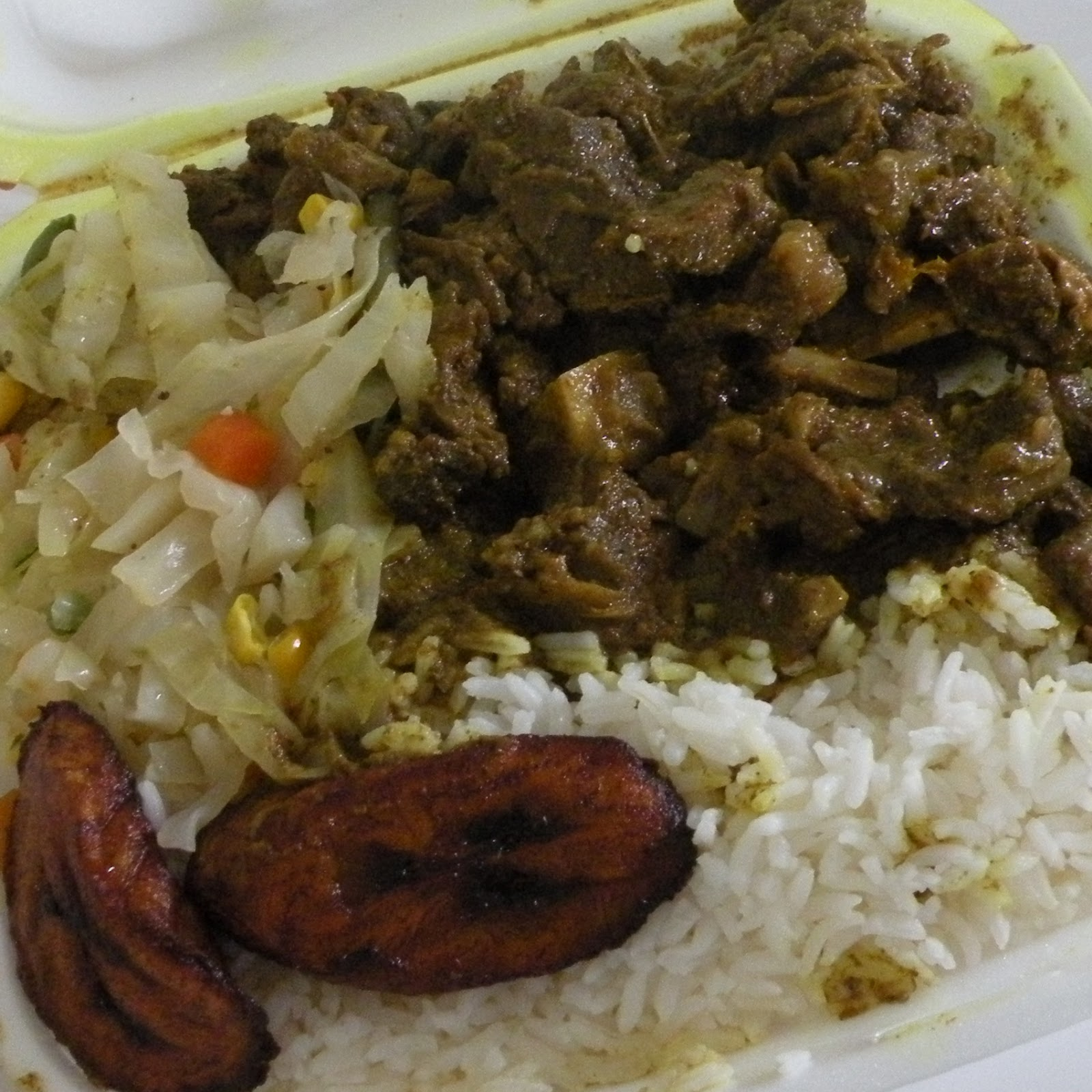 Dominican Curry Goat Curry Goat With White Rice