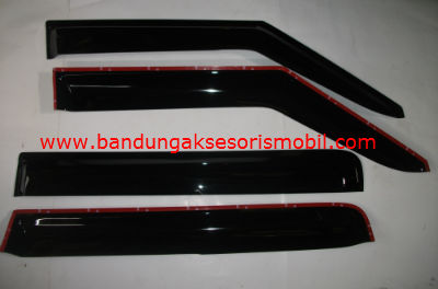 Talang Air Swift Mugen Hitam 3M Depan Belakang