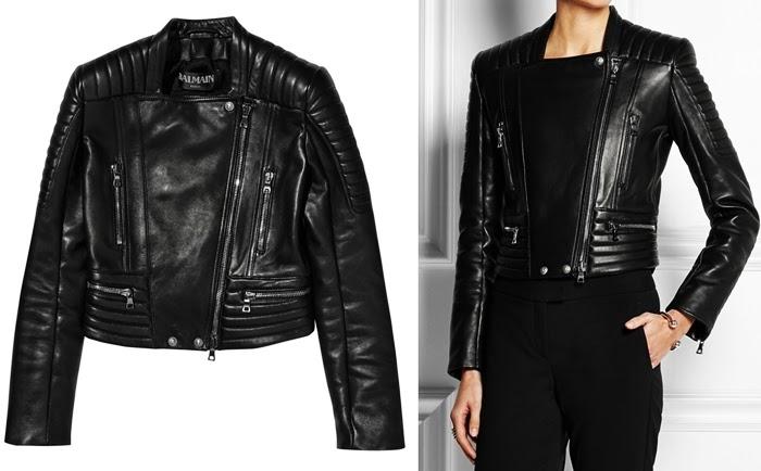 Simple Zara Pants  Balmain Inspired Zara Leather Biker Pants