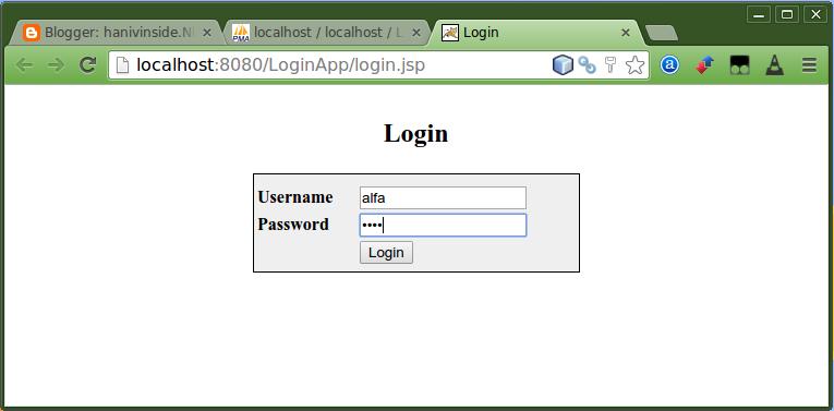 Aplikasi Login dengan Java dan MySQL