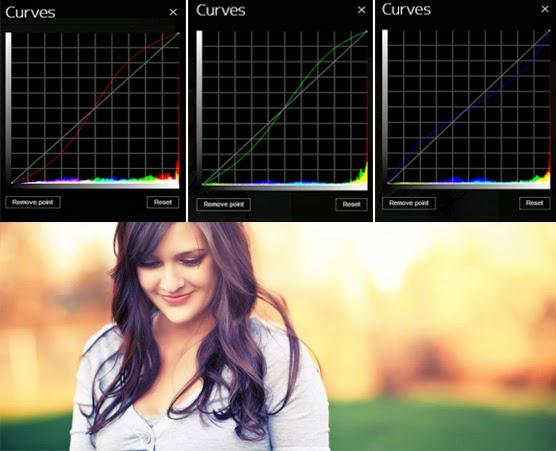 Edit Foto Dengan Tool Curves Online