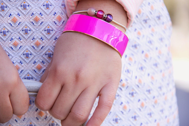 Pastel-Pink, Spring-Street-Style, Pandora-Bracelet, Mini-Skirt, HM, JCrew, Club-monaco