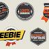 Freebie #74 | Emblemas Vintage para download free