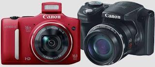 Canon PowerShot SX500 IS, digital camera