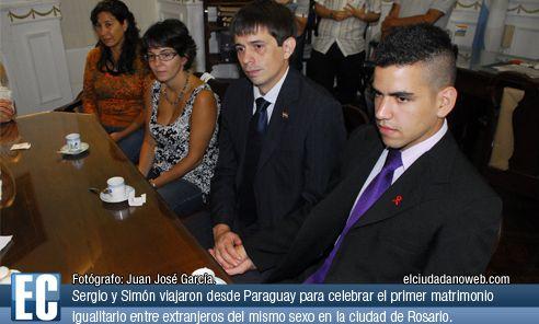 Matrimonio homosexual en argentina para extranjeros