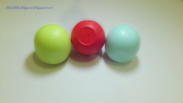 eos, smooth lip balm sphere, lip balm, egg lip balm, mint, blue, green, honeydew, melon, red, rambutan, summer fruit