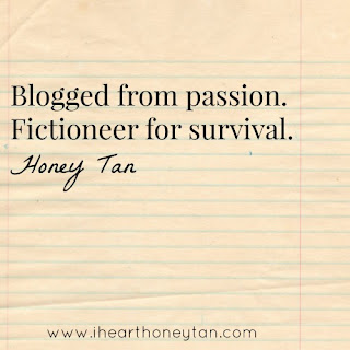 Blogged from passion. Fictioneer for survival.