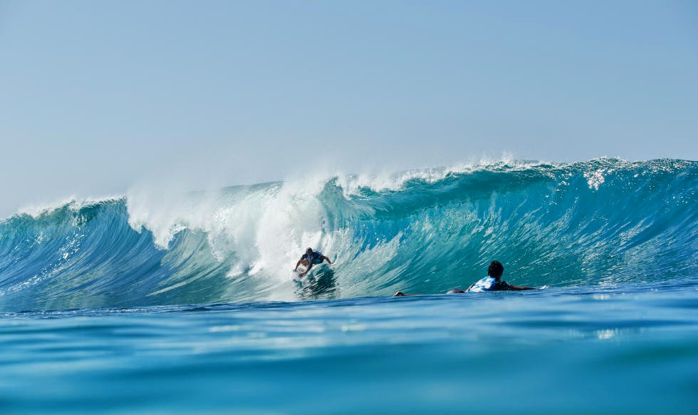31 Billabong Pipe Masters 2014 Reef McIntosh Foto ASP