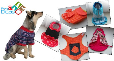 Moldes de roupas para cães grátis