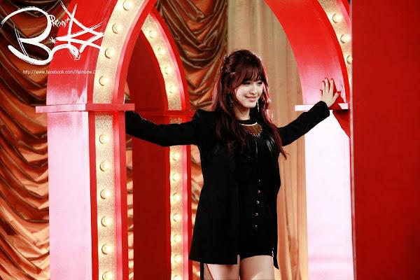 Rainbow Blaxx Jaekyung Cha Cha Backstage