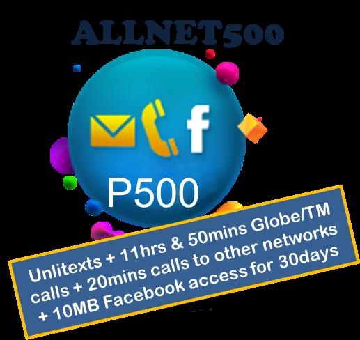 globe allnet500