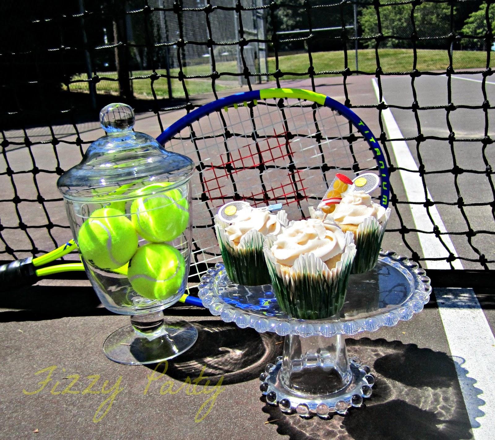 Wimbledon, Tennis, cupcakes