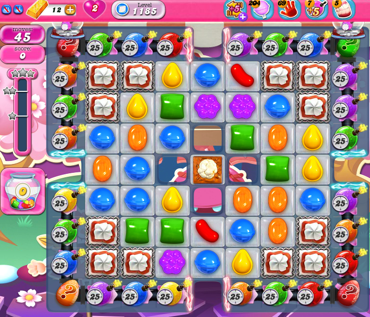 Candy Crush Saga 1185