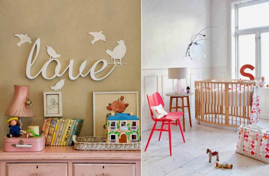 Con lluvia y con sol decoraci n infantil y juvenil con - Ideas para decorar letras de madera ...