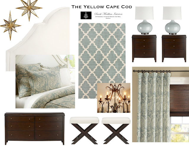 The yellow cape cod custom designs for Cape cod style bedroom ideas