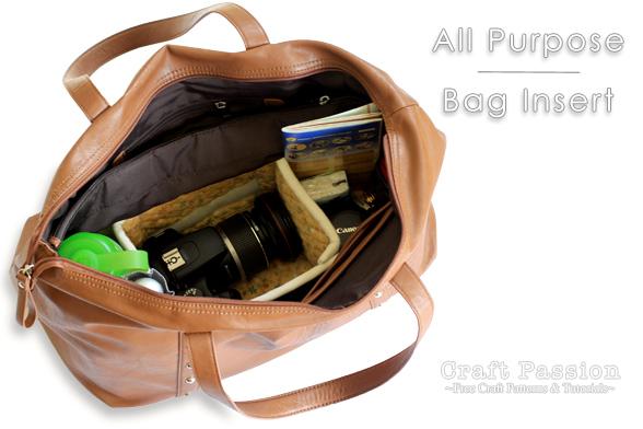 Bag Organizer Insert8