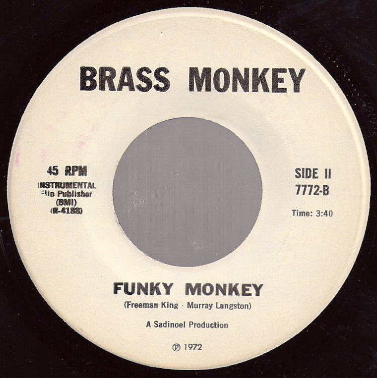 The Devil's Music: Brass Monkey - Brass Monkey - Funky Monkey