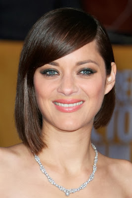 Marion Cotillard short haircut with bangs