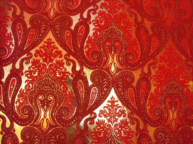 I too am here daring red wallpaper and the office for Velvet wallpaper