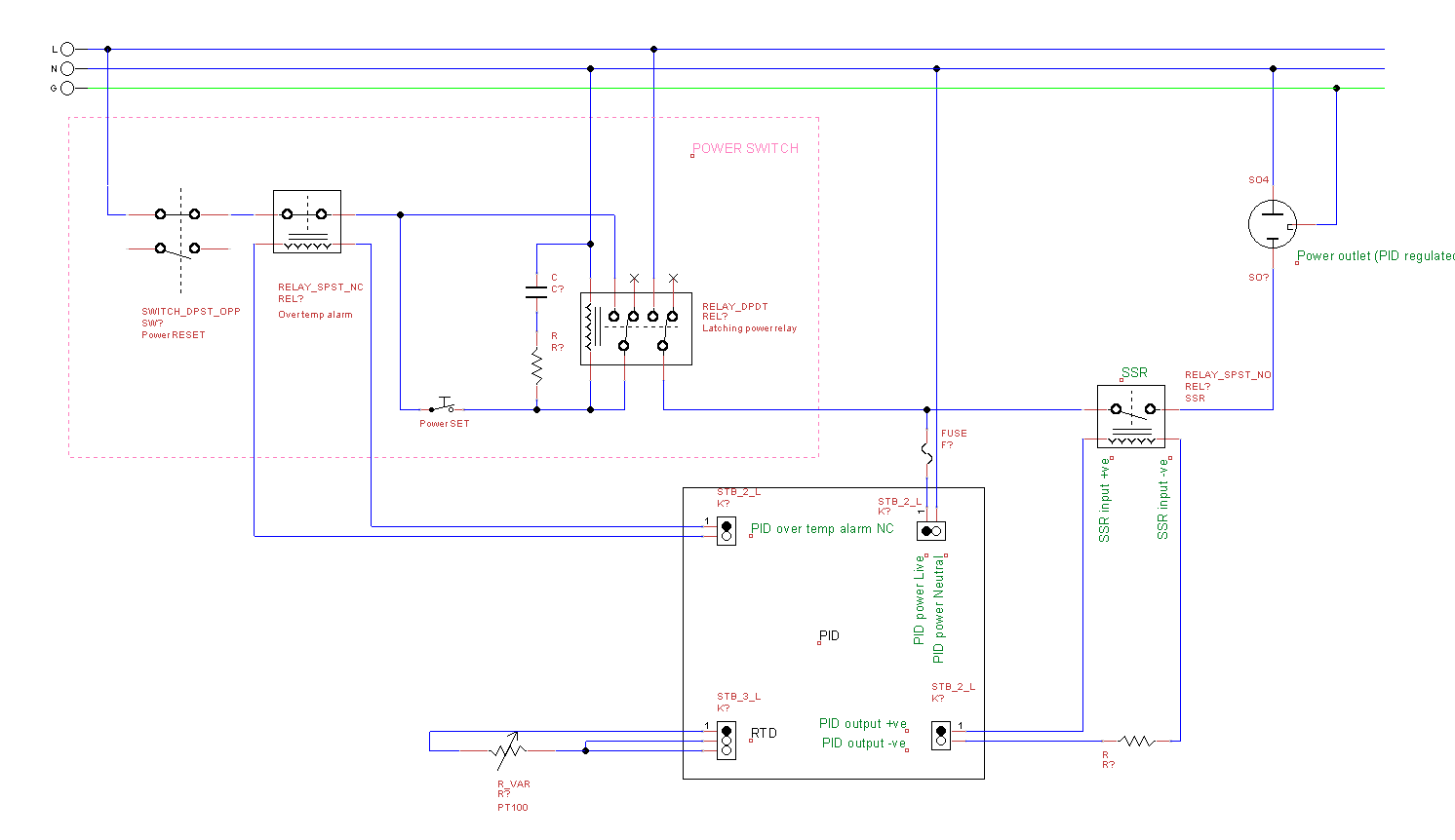 Electric Smoker Wiring Diagram. Electric. Circuit Diagrams #9E3E2D