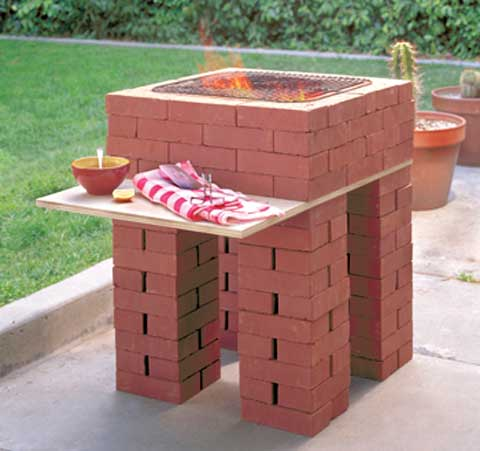 Brick Barbecue Pictures7