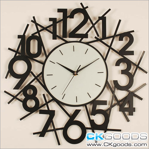 Wall Decor Clocks Modern : Fashion and art trend unique creative stylish wall