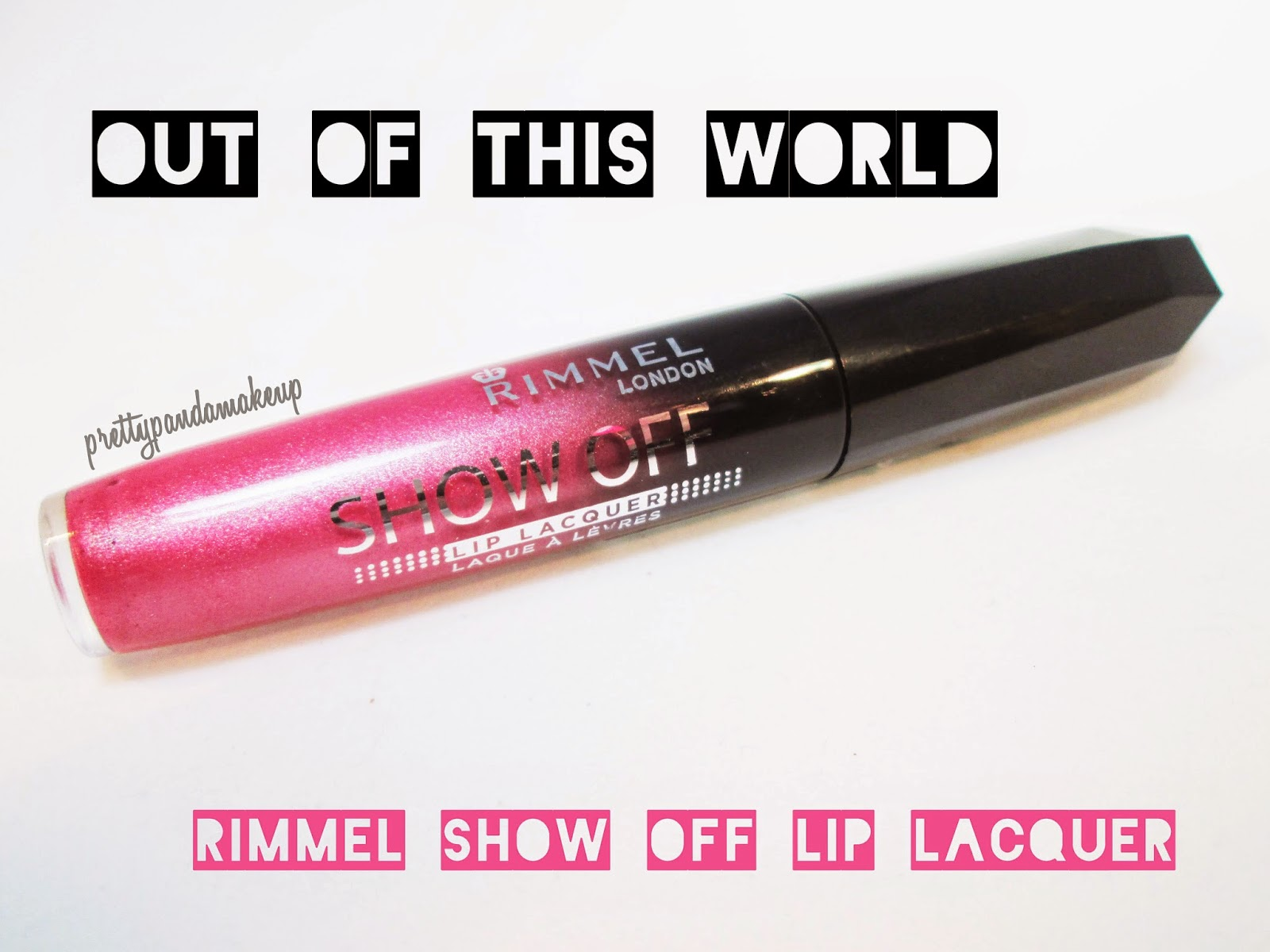 Rimmel Show Off Lip Lacquer in Out of This World Swatches and Review