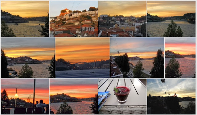 Photo Album - City Break in Porto - Sunset over the Douro River