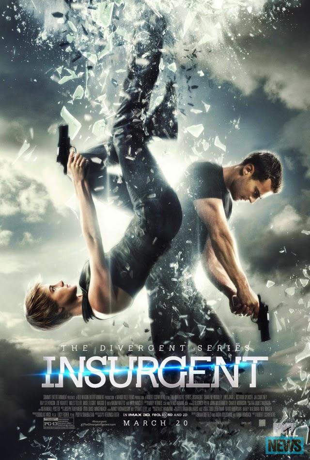 Insurgent Movie Poster : Teaser Trailer
