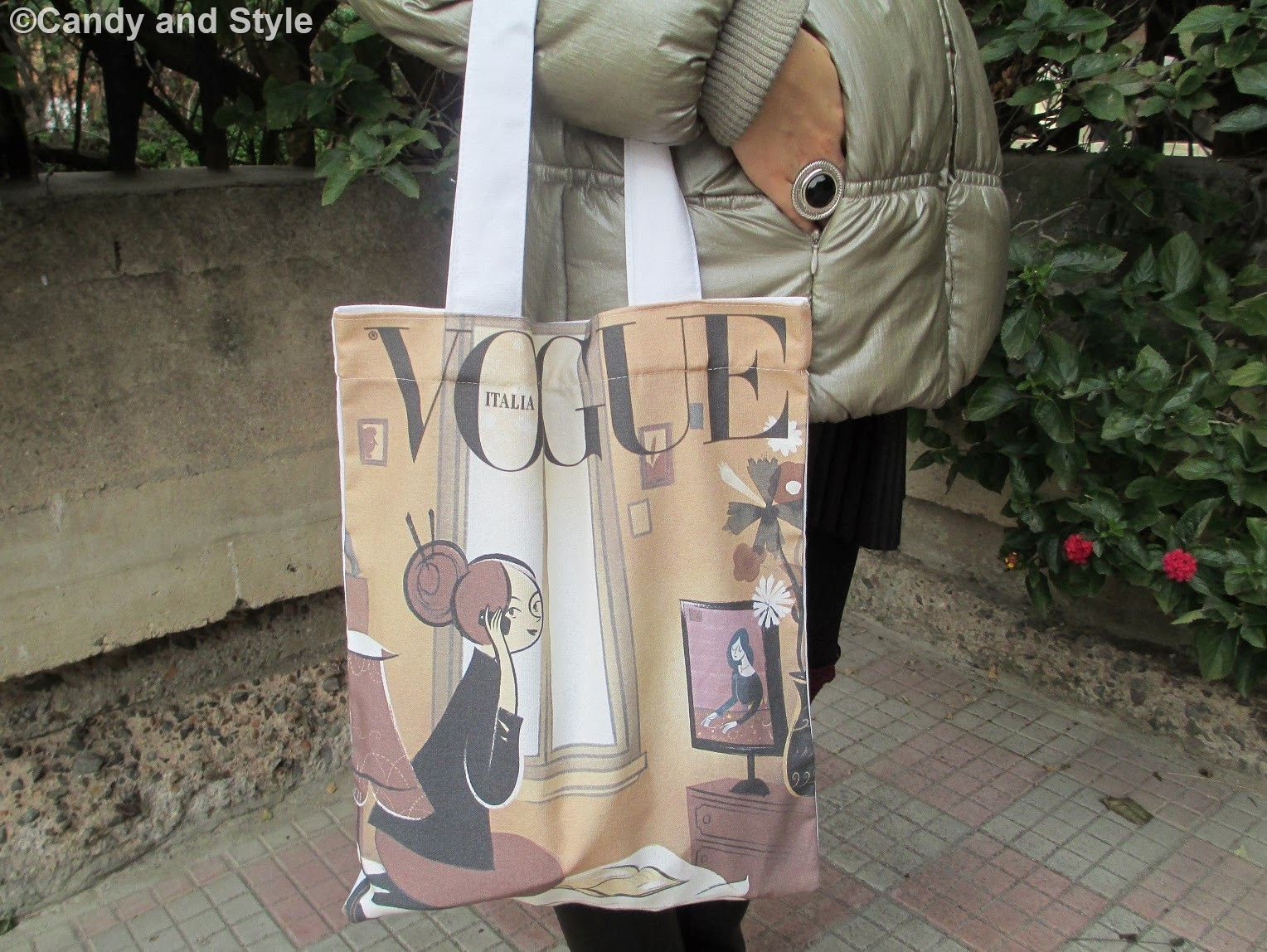 QVC ITALIA Shopper Bag