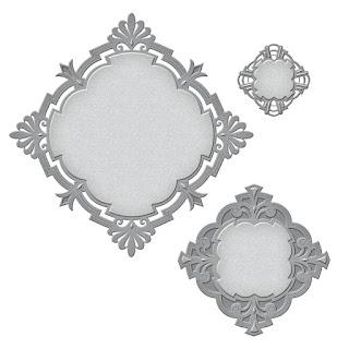 SBS4-589 Spellbinders Nestabilities Savoy Decorative Element