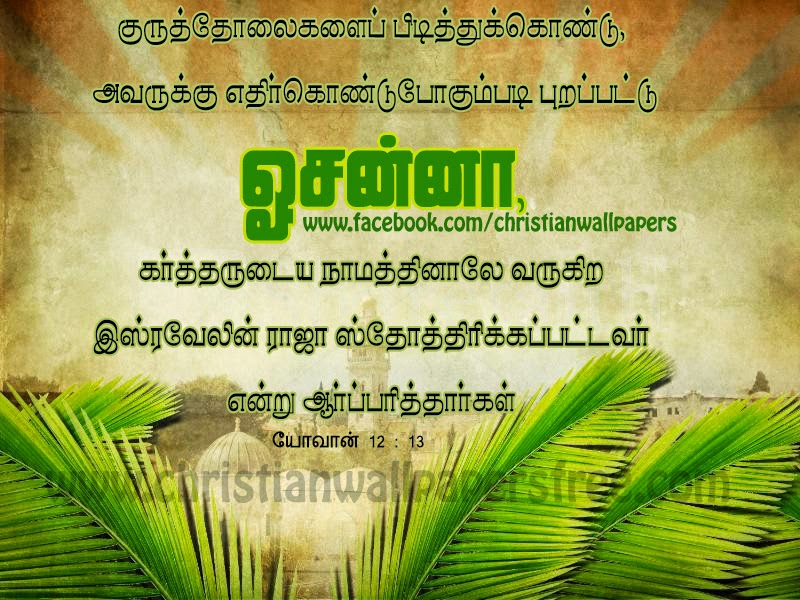 Palm sunday quotes from the bible