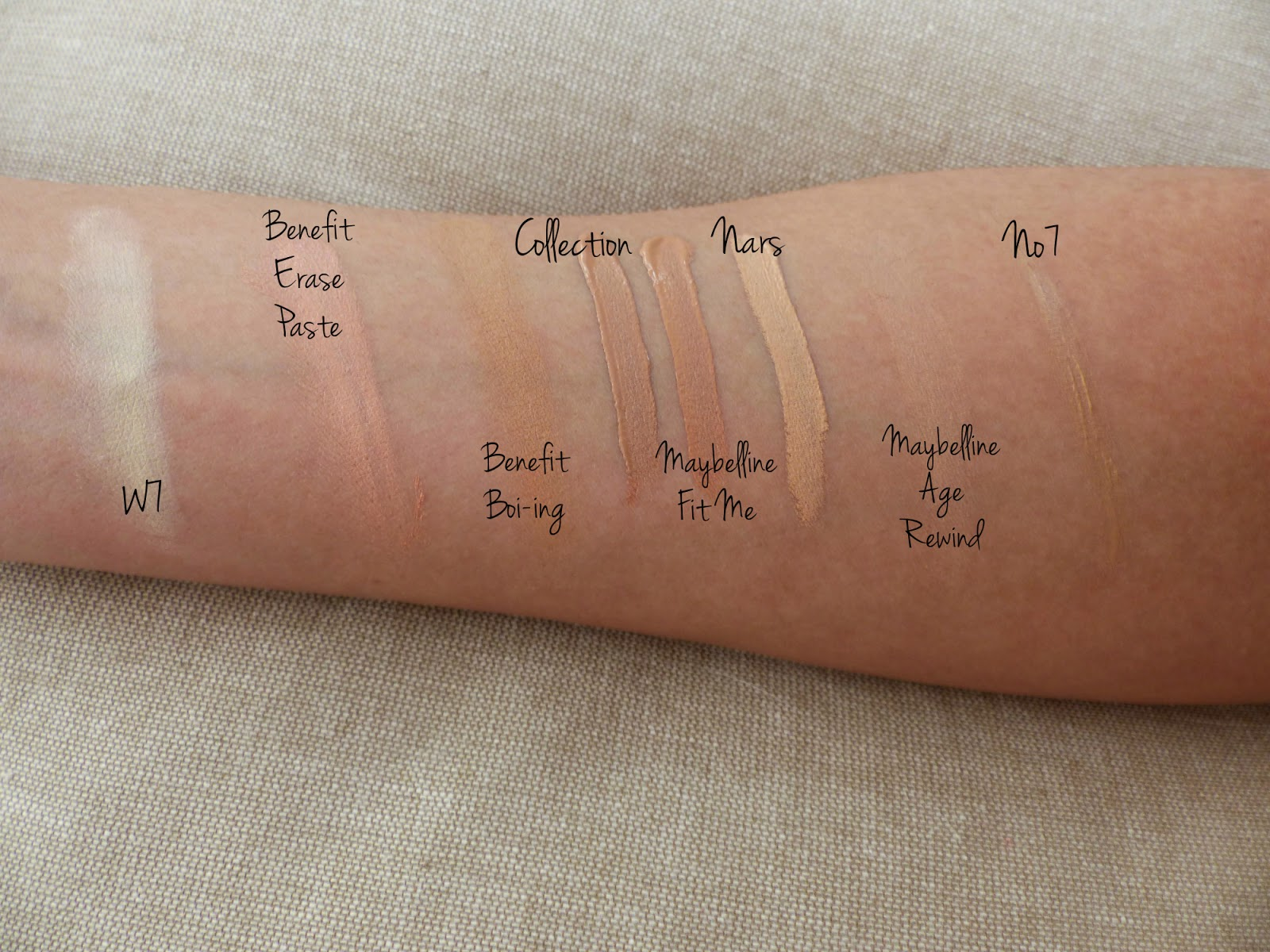 The Concealer Guide Jasmine Talks Beauty