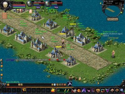 Eudemons Online Castles