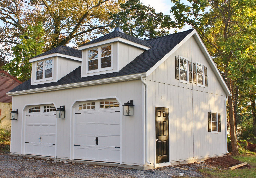 High street market our new carriage house for Carriage house plans cost to build