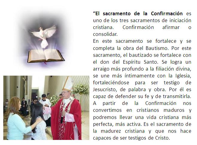 Tarjeta Catolica Confirmacion