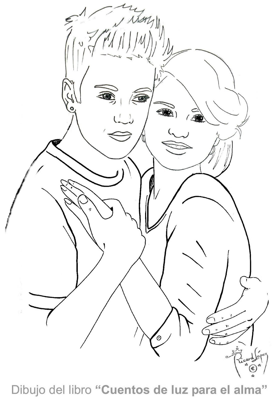 Coloring games justin bieber - Free Demi Lovato Drawings Coloring Pages