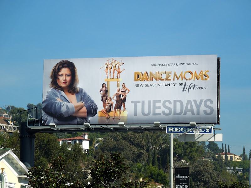 Dance Moms season 2 TV billboard