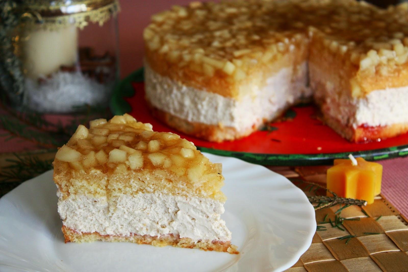 Winterapfel Schmand Torte