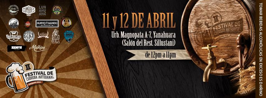 Festival de cerveza artesanal arequipa