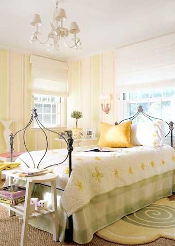 дизайн команты для подростка девочки желтая спальня для подростка