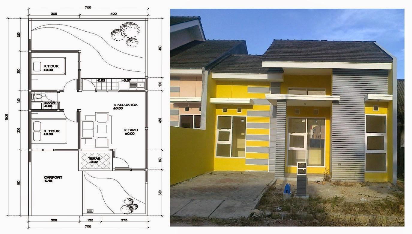 Rumah Minimalis Sederhana 1 Lantai Terbaru