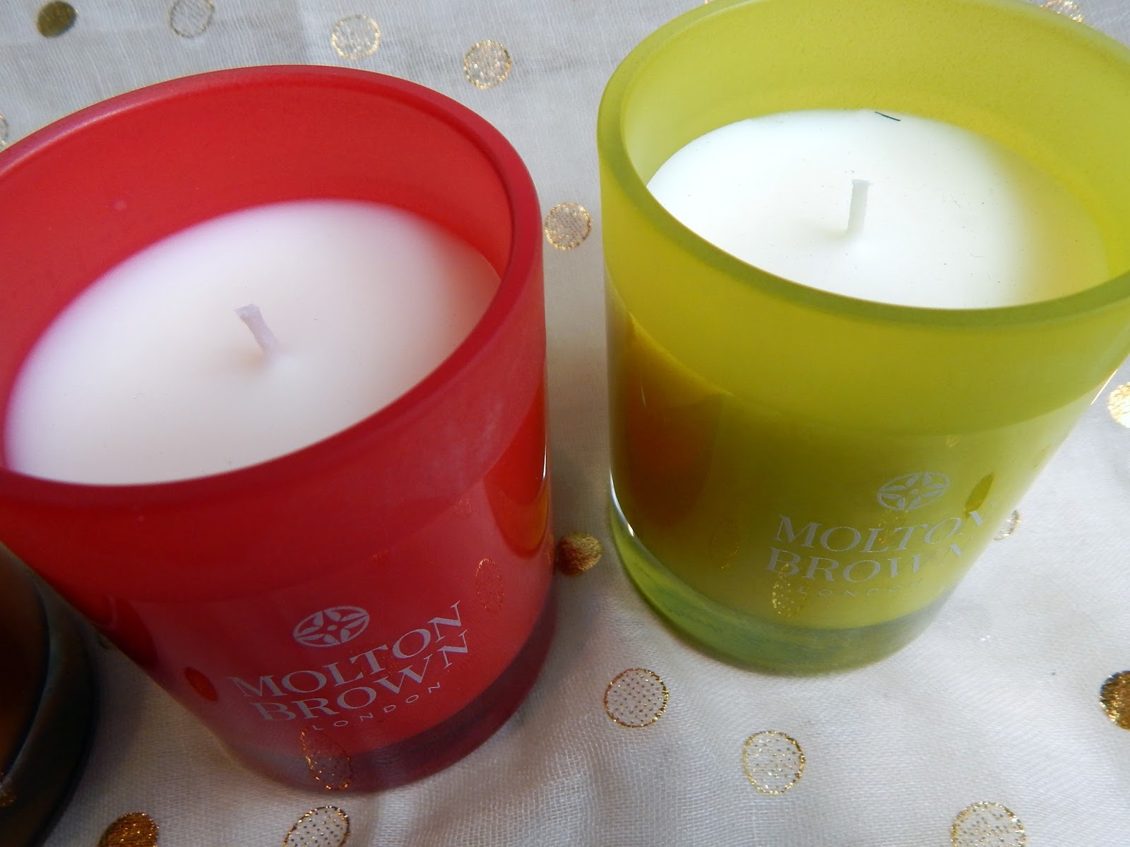Molton Brown Three Kings Candle Set