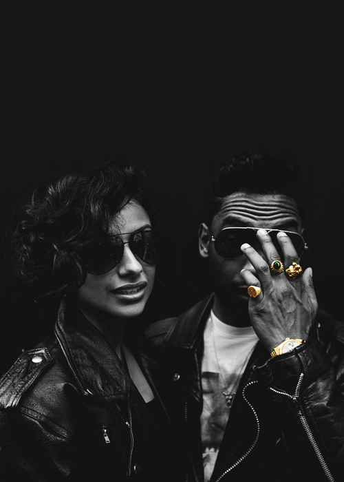miguel girlfriend nazanin mandi
